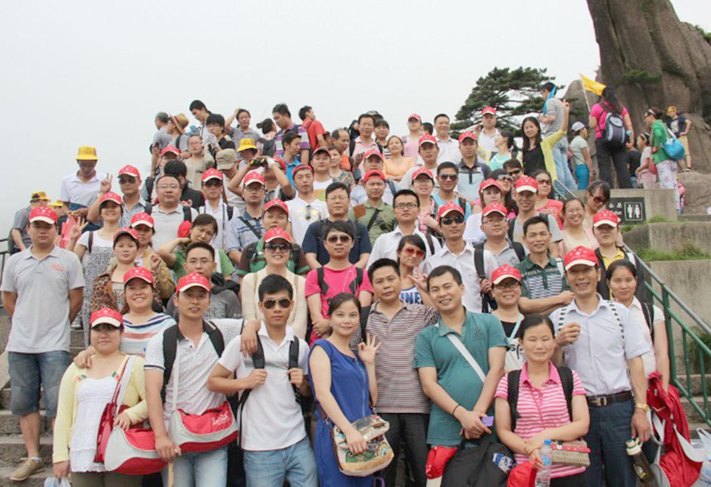 2013黄山旅游合影1